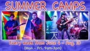Summer Camps advertisement